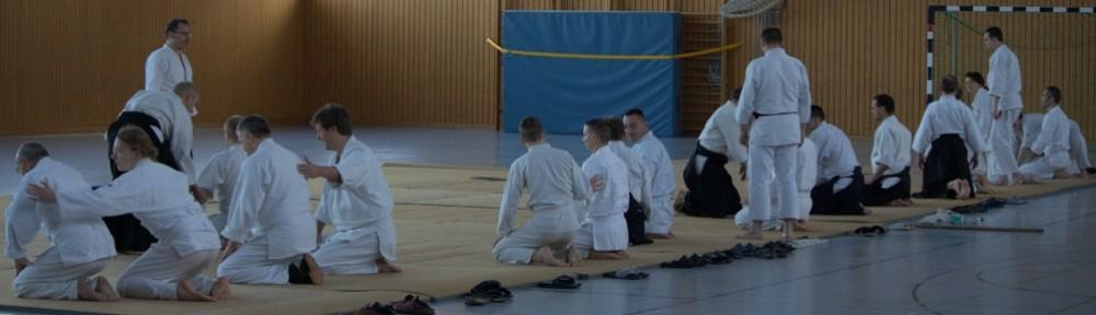 Aikido. Dojo an den Gärten der Welt